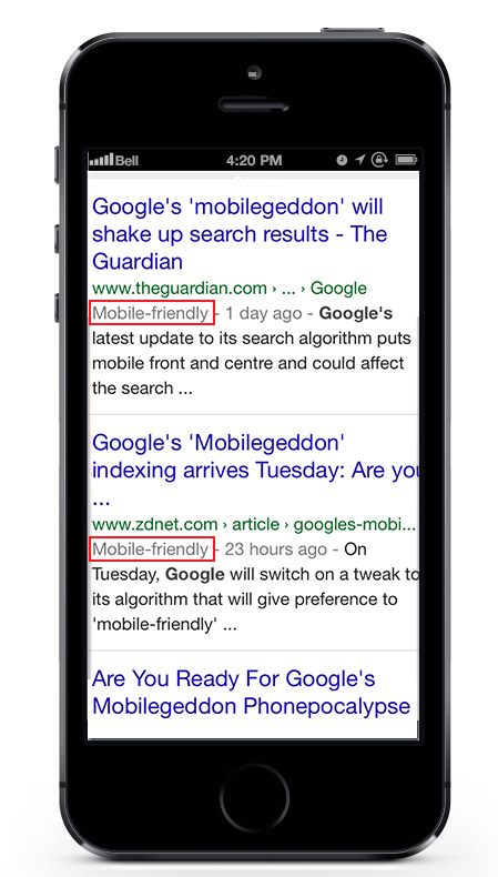 Google Mobile-Friendly Label